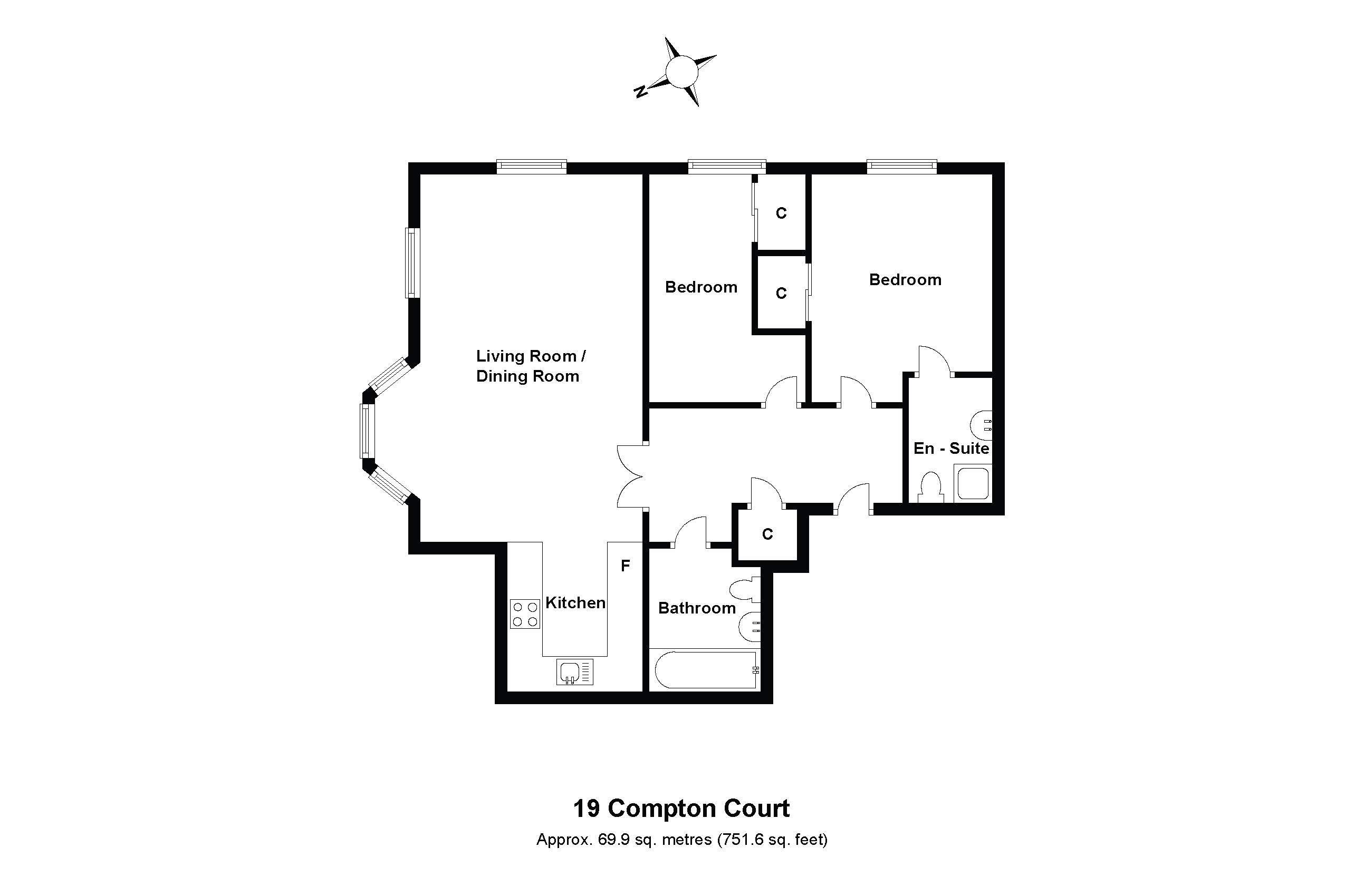 19 Compton Court Floorplan