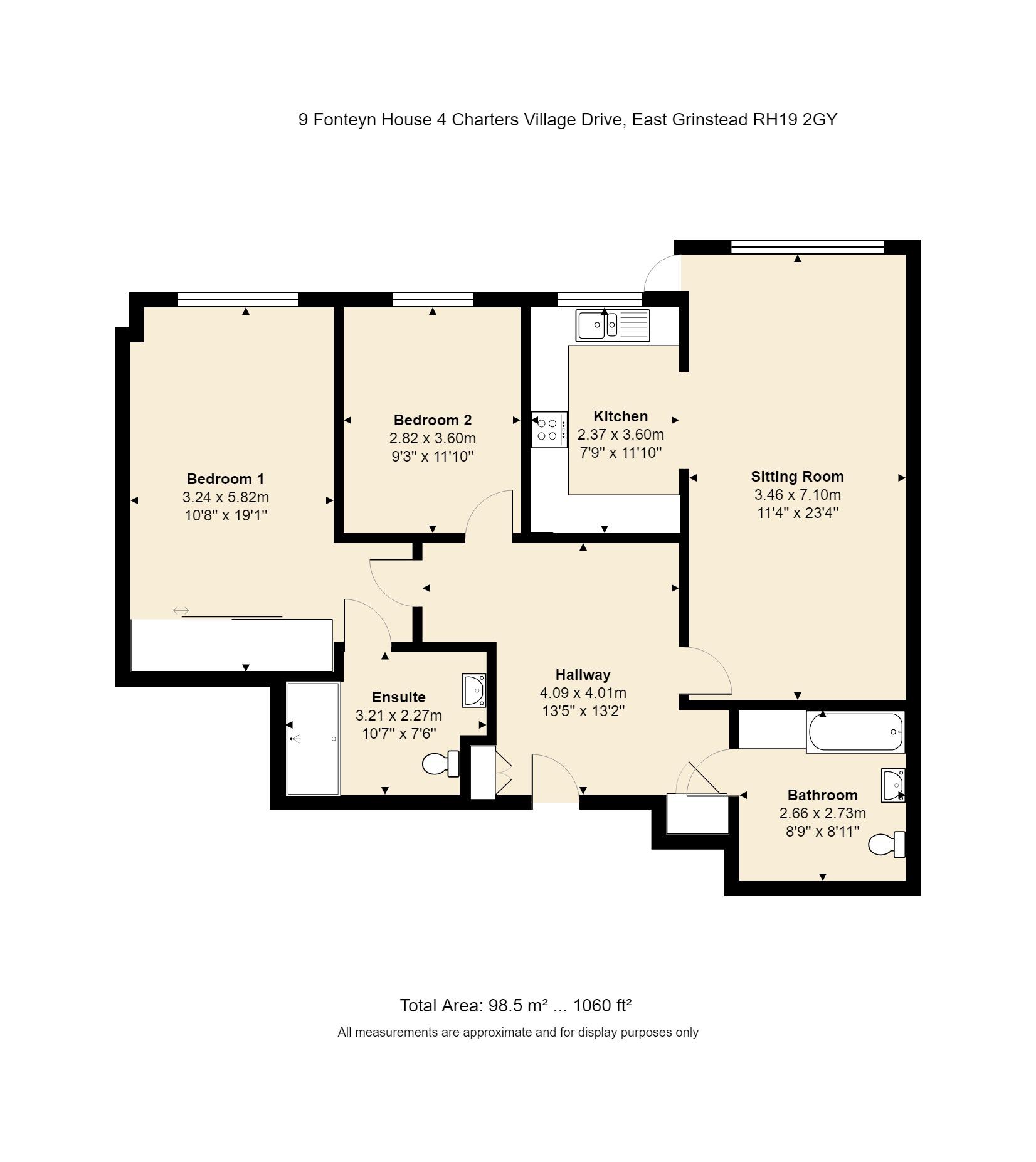 9 Fonteyn House Floorplan