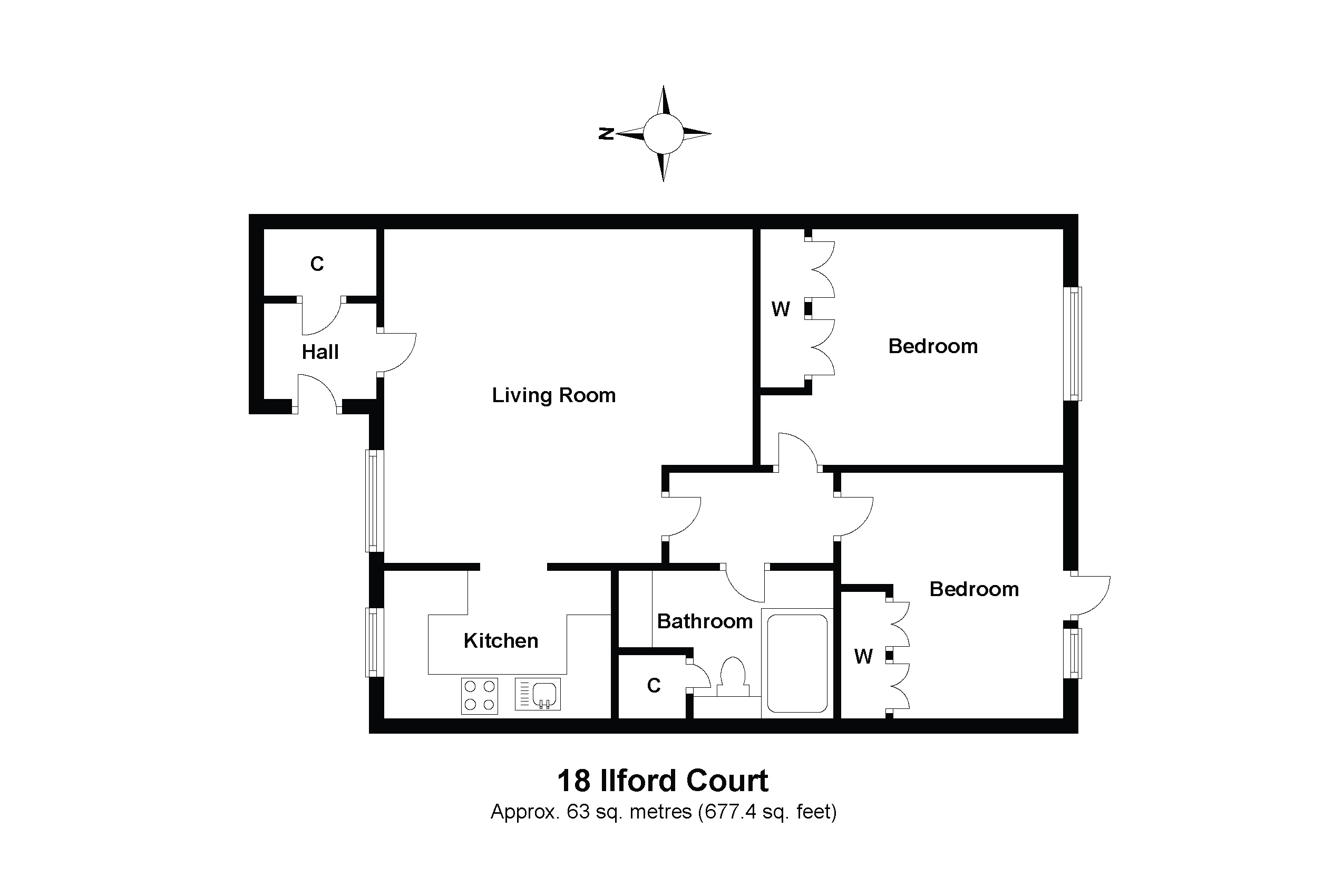 18 Ilford Court Floorplan