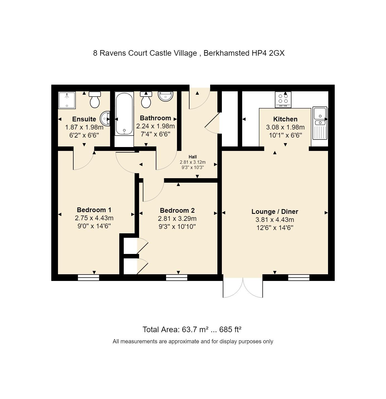 8 Ravens Court Floorplan