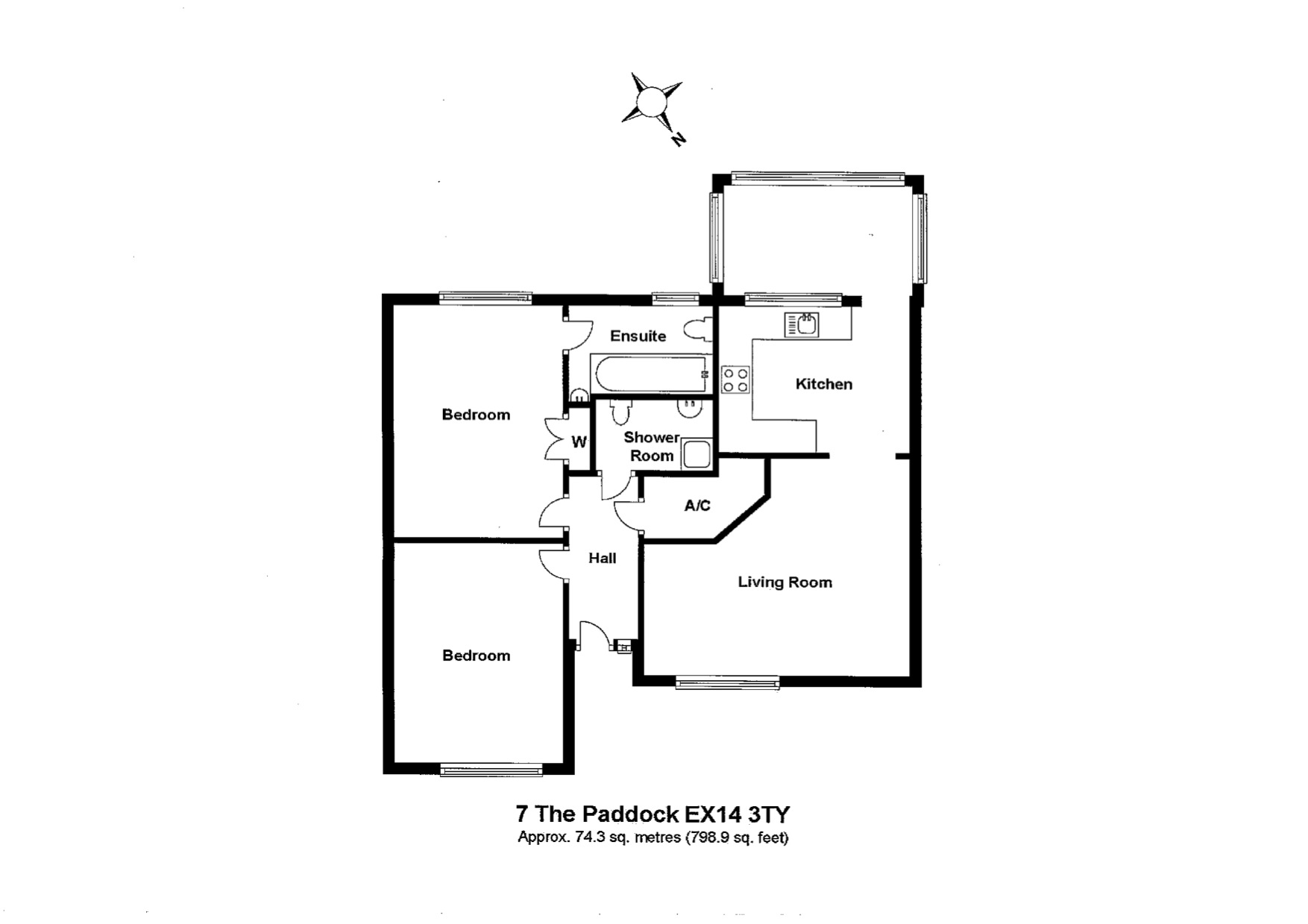 7 The Paddocks Floorplan