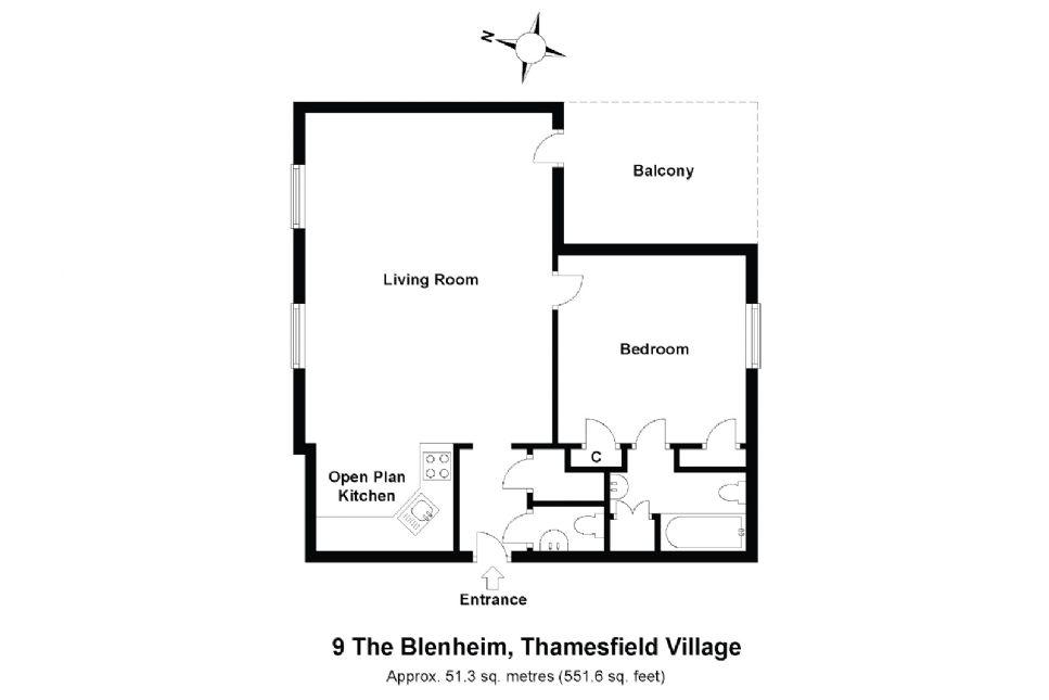 9 Blenheim Floorplan