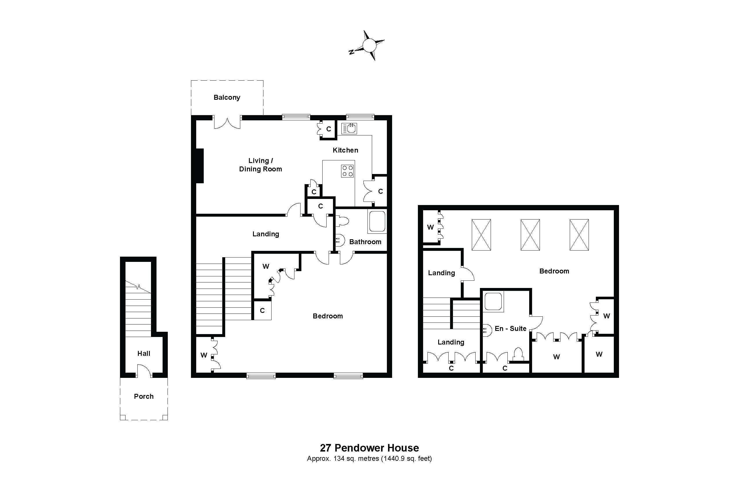 27 Pendower House Floorplan