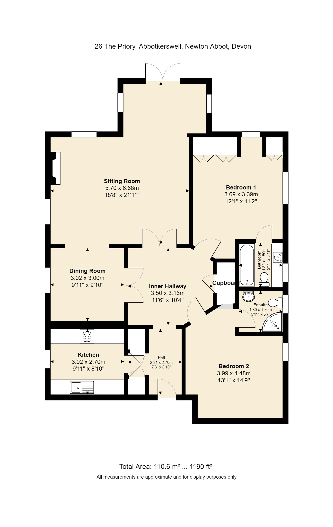 26 The Priory Floorplan