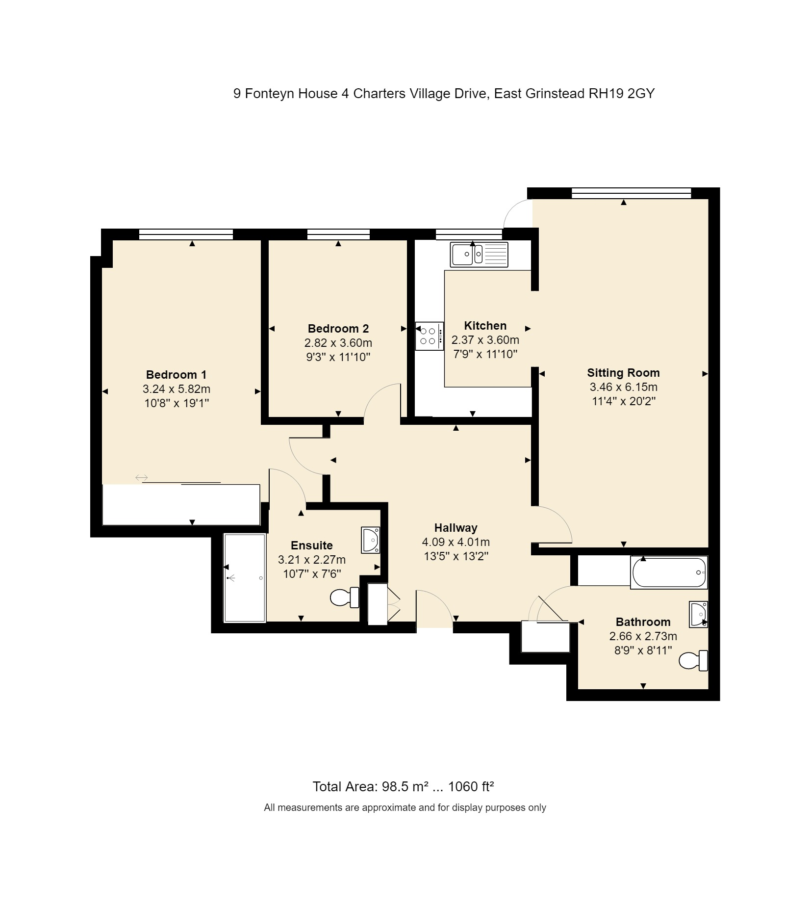 9 Fonteyn House Floorplan