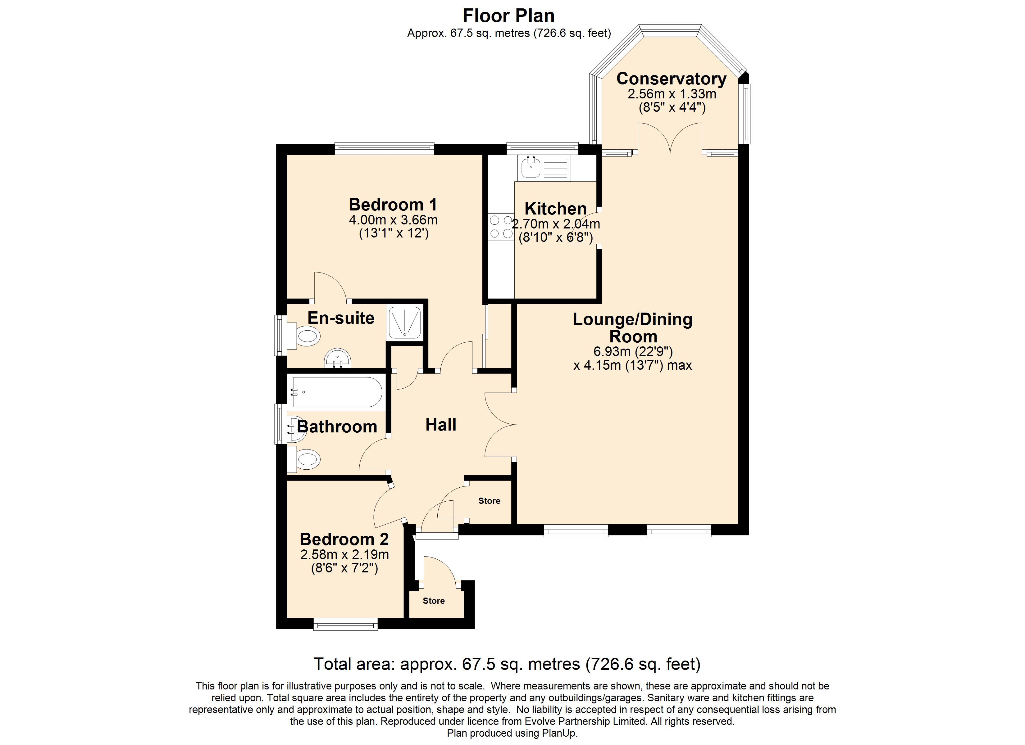 4 Thurlaston Drive Floorplan