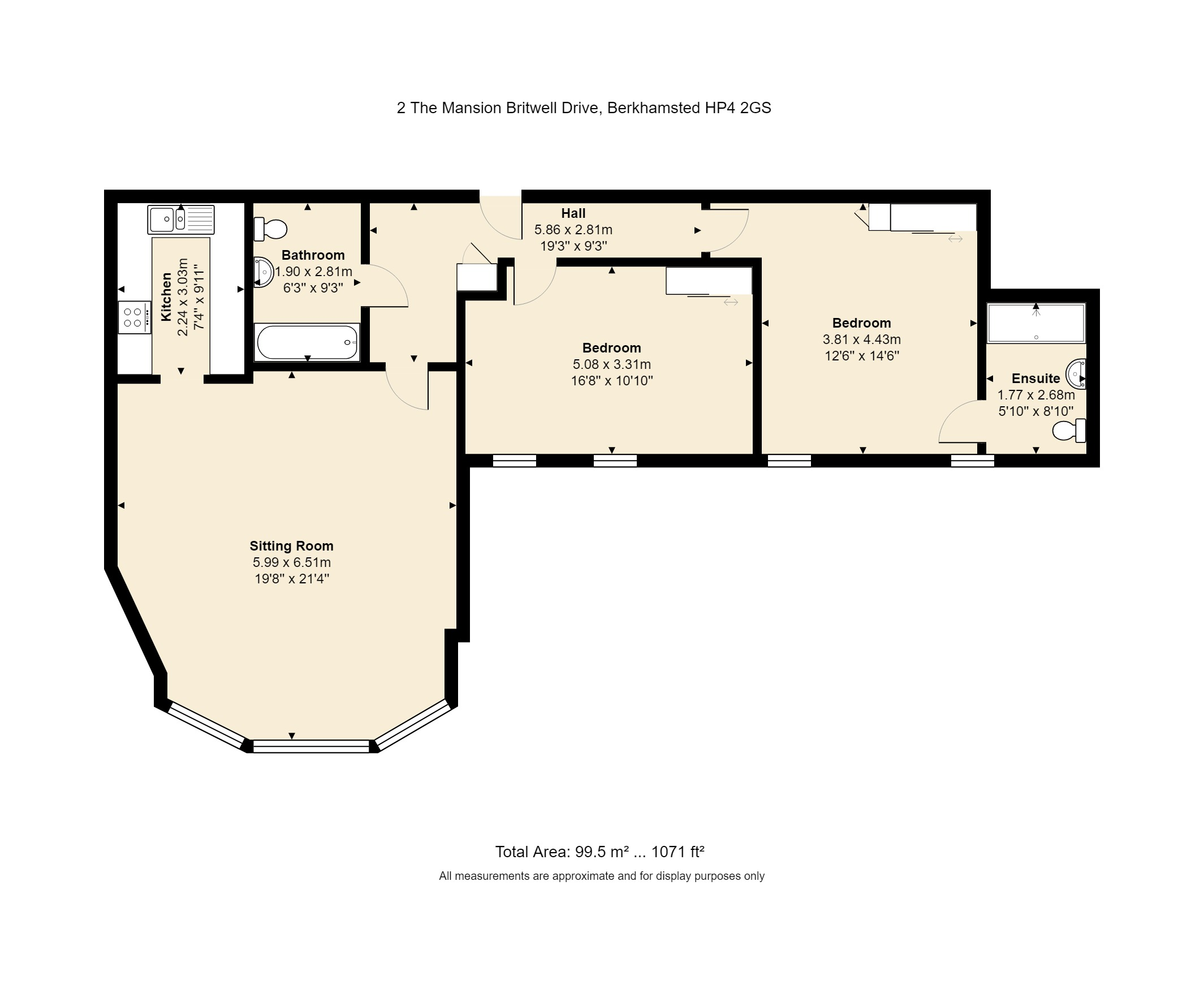2 The Mansion Floorplan