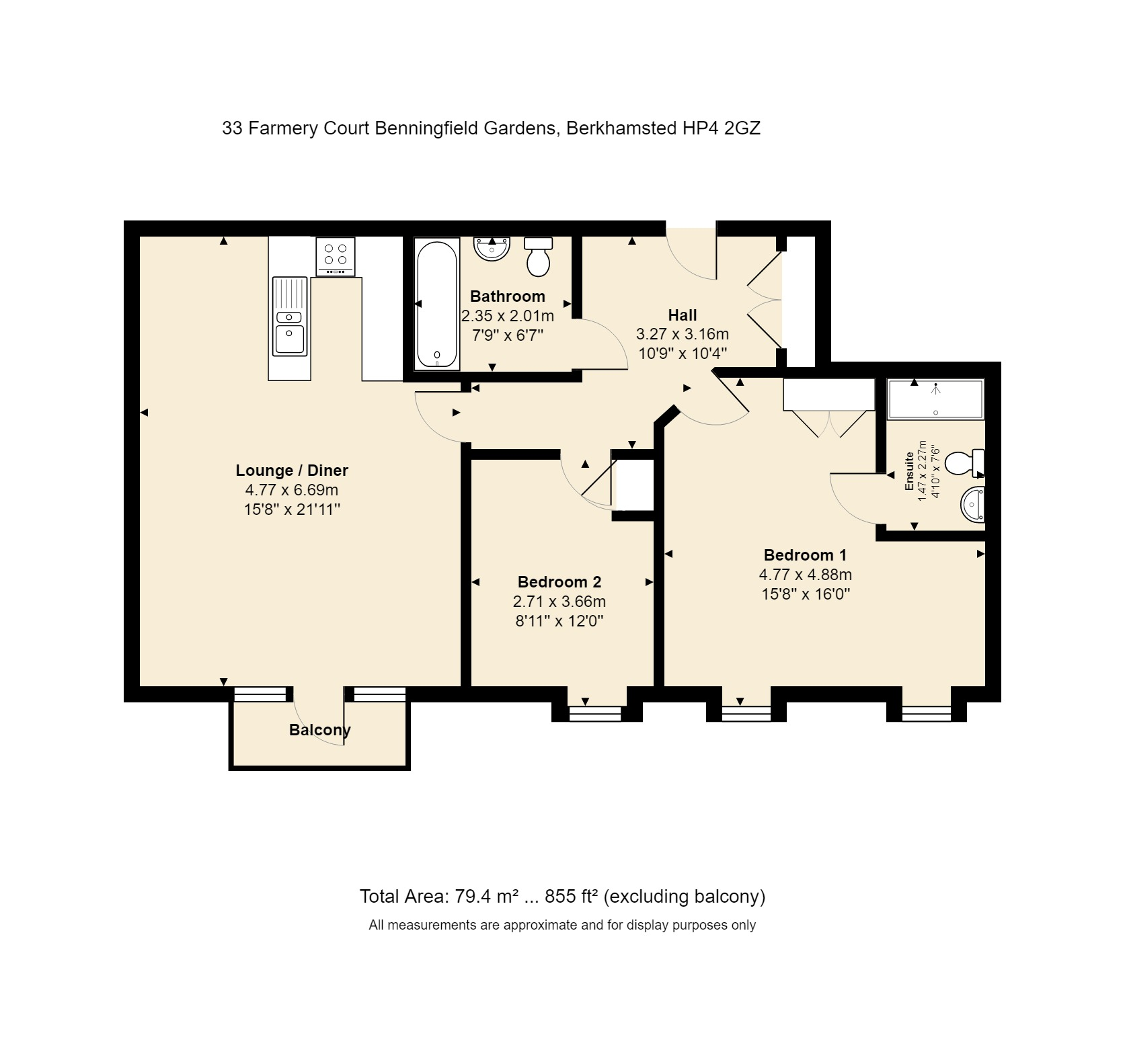 33 Farmery Court Floorplan