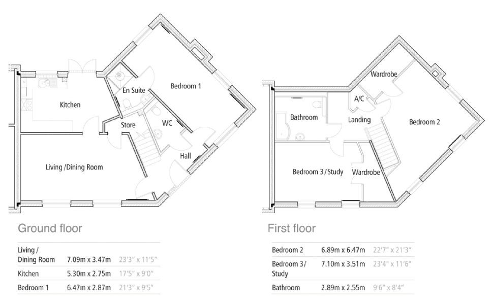 New Build, 44 The Polo Field Floorplan