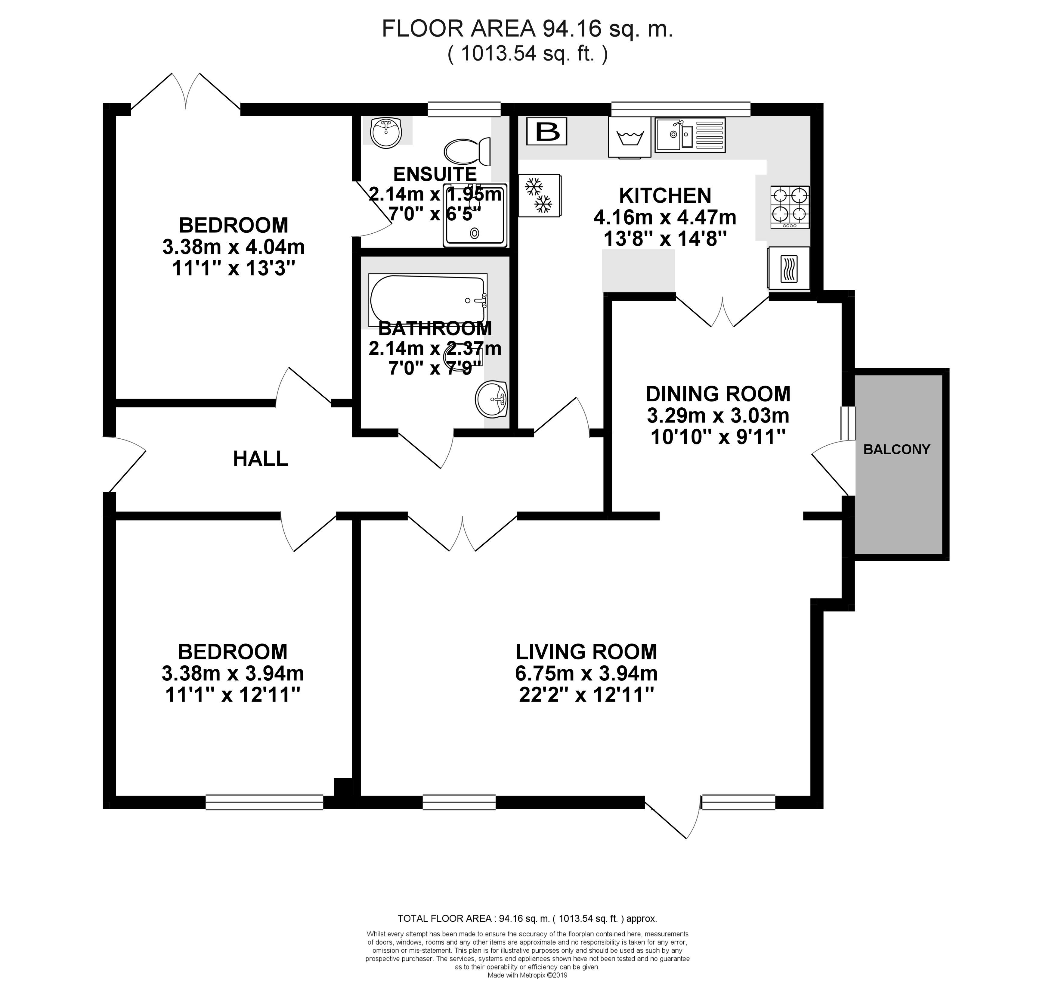 22 Kingfisher Court Floorplan