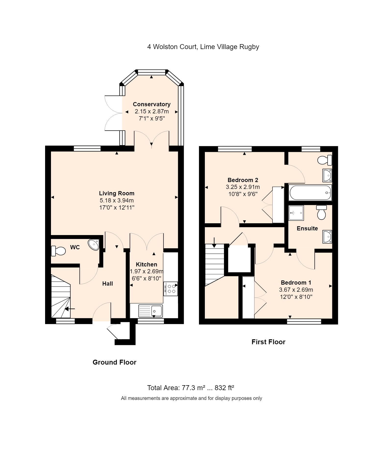4 Wolston Court Floorplan