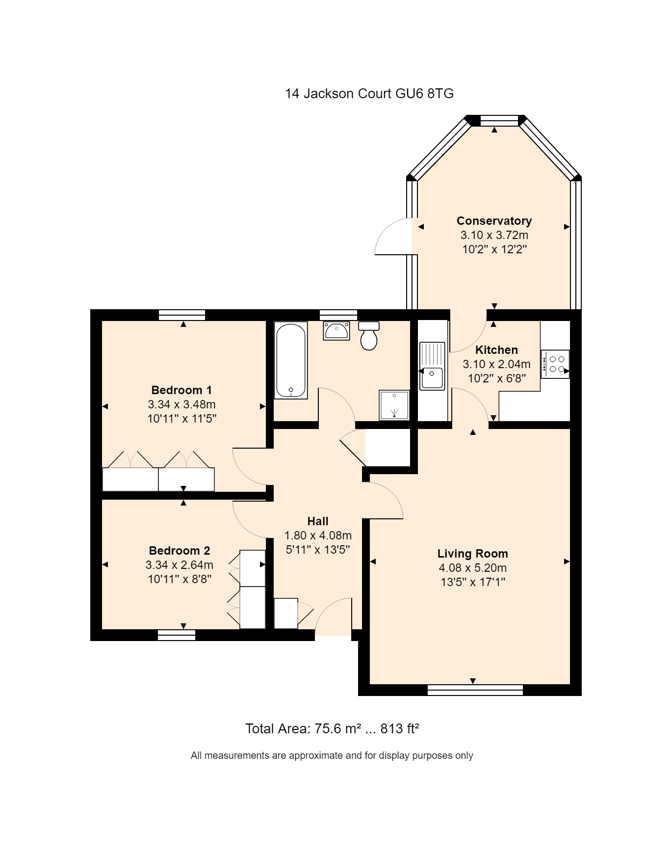 14 Jackson Close Floorplan