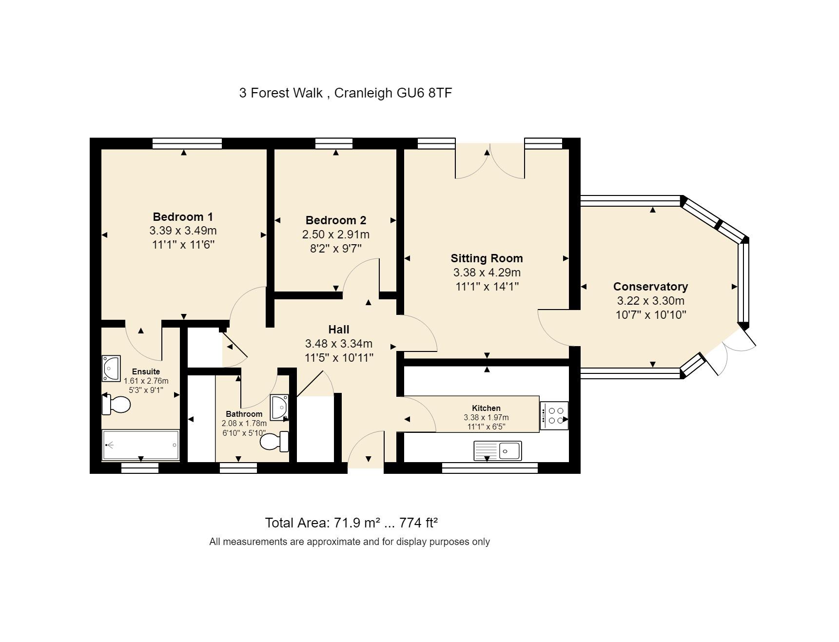 3 Forest Walk Floorplan
