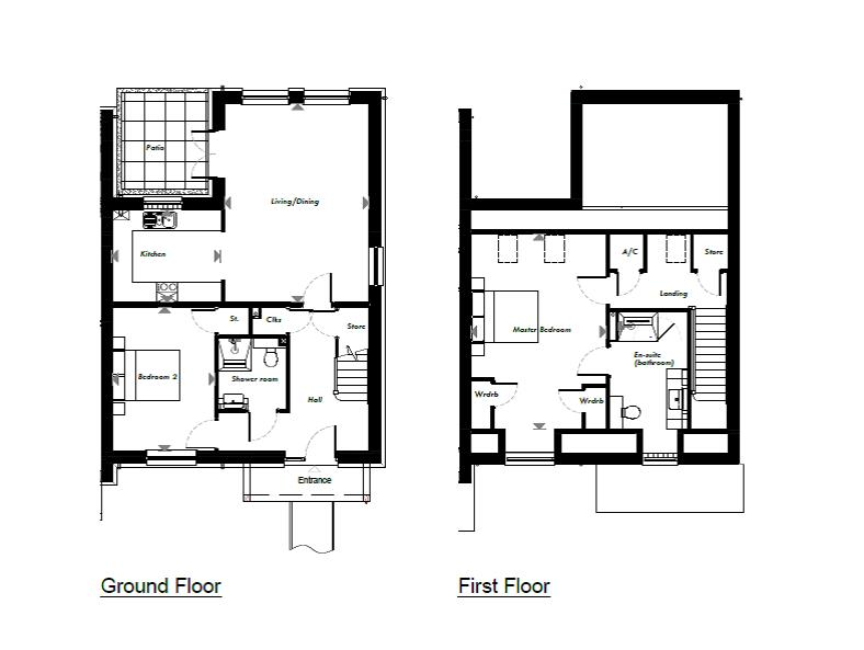 New Build, 3 Meadow View Floorplan