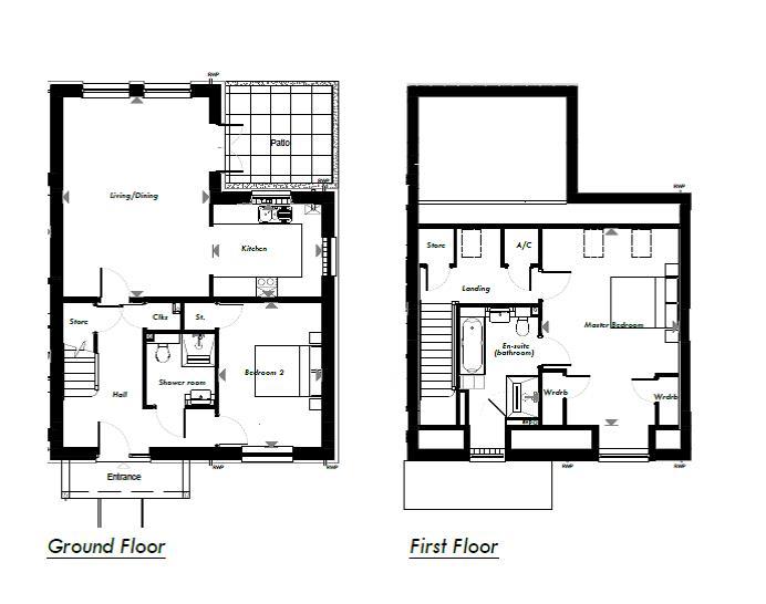 New Build, 9 Meadow View Floorplan