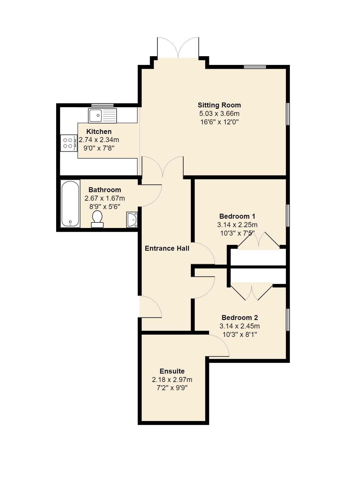 45 Vivary House Floorplan