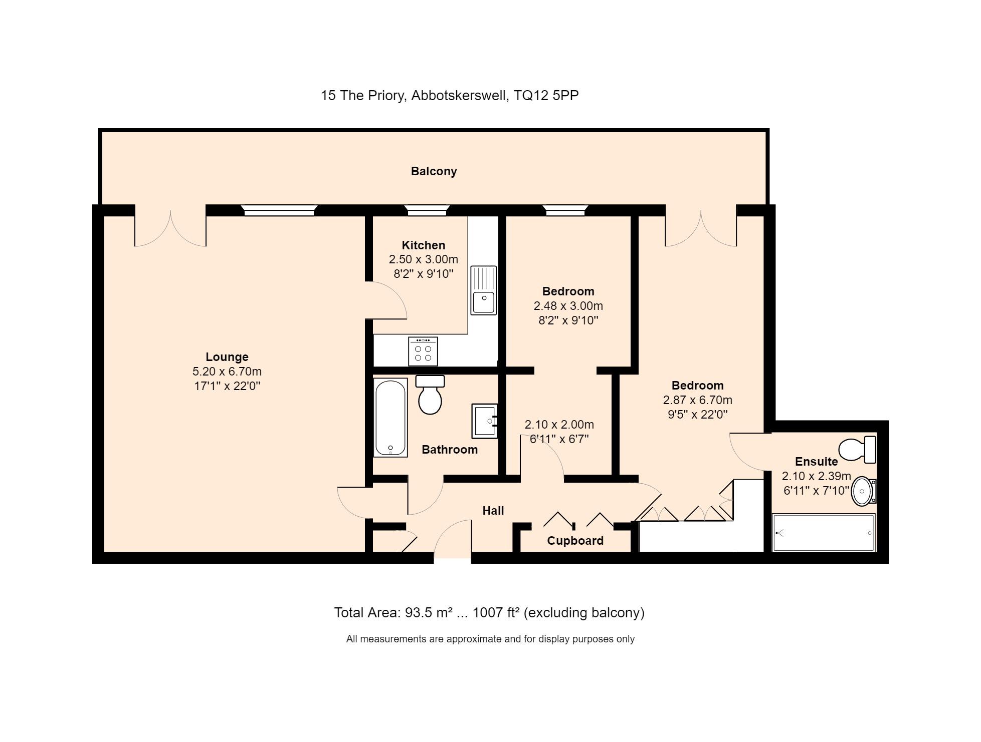 15 The Priory Floorplan