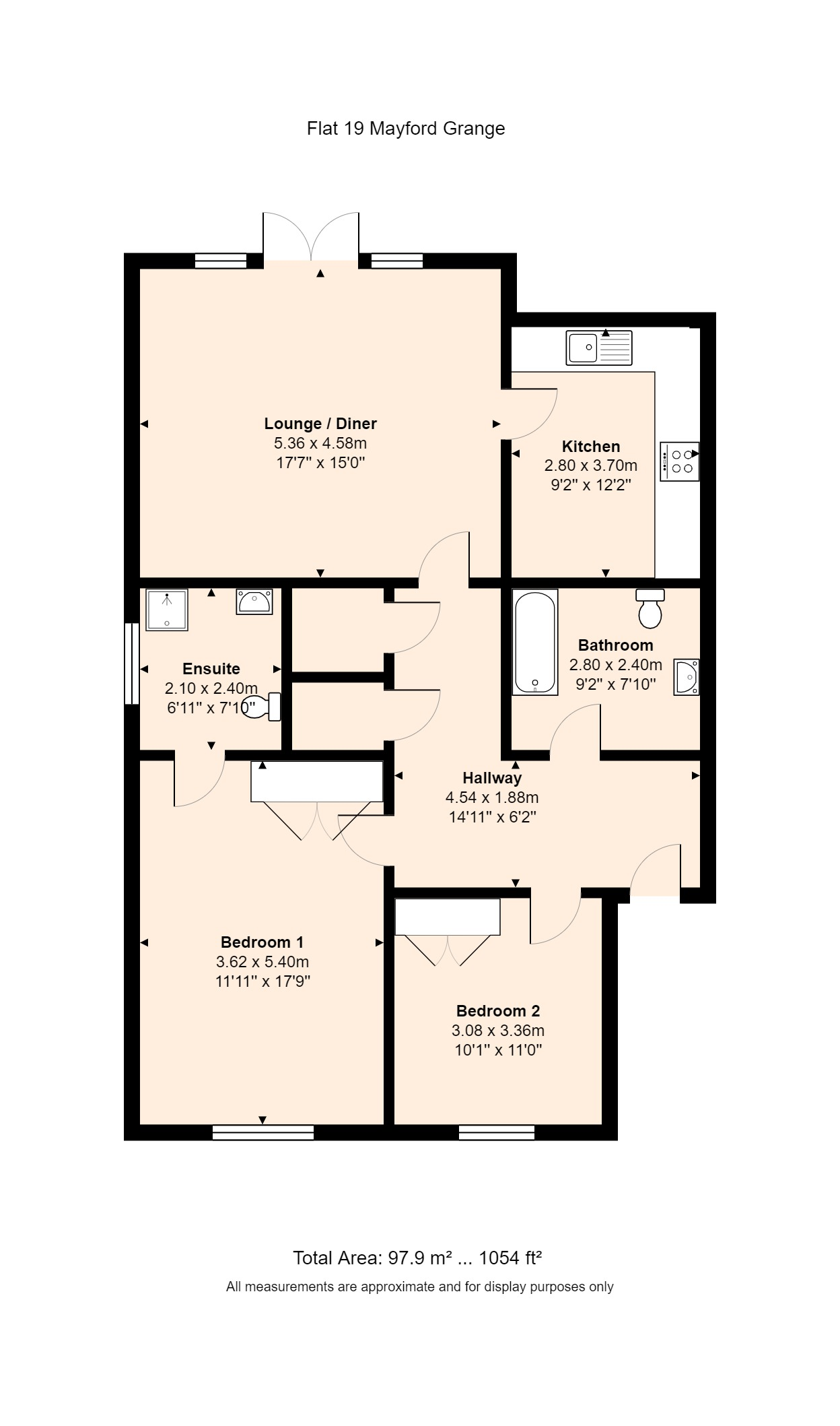 19 Sutton Green Lodge Floorplan