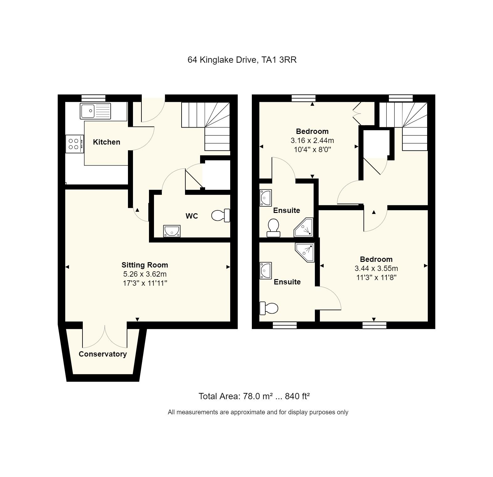 64 Kinglake Drive Floorplan