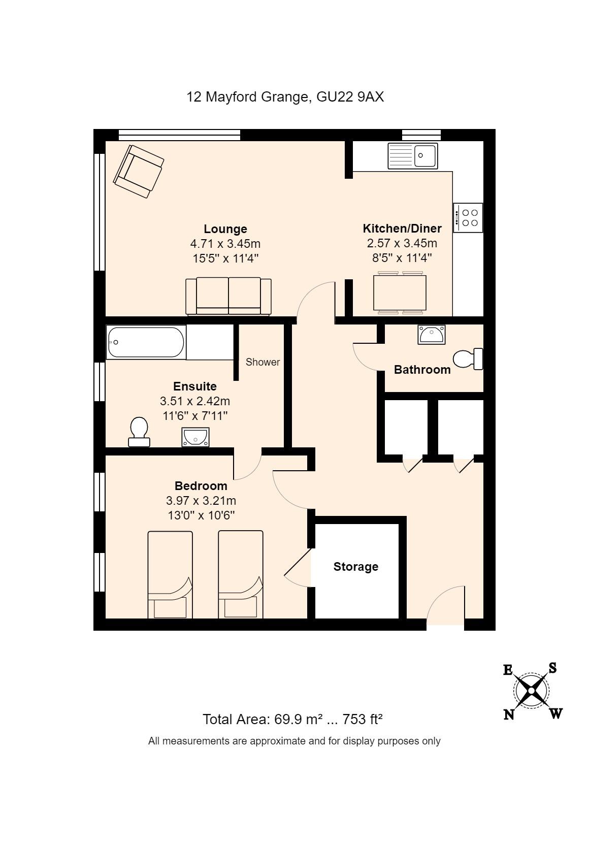 12 The Fairways Floorplan
