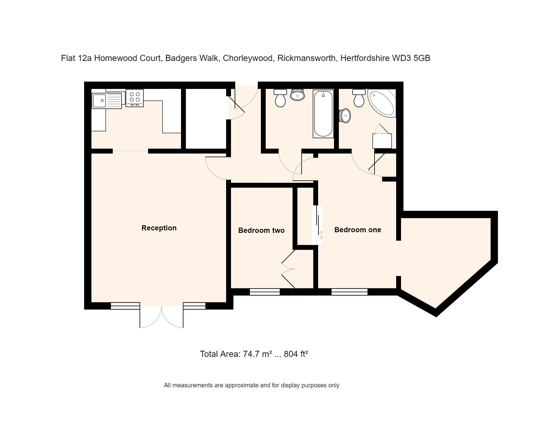 12a Homewood Court Floorplan