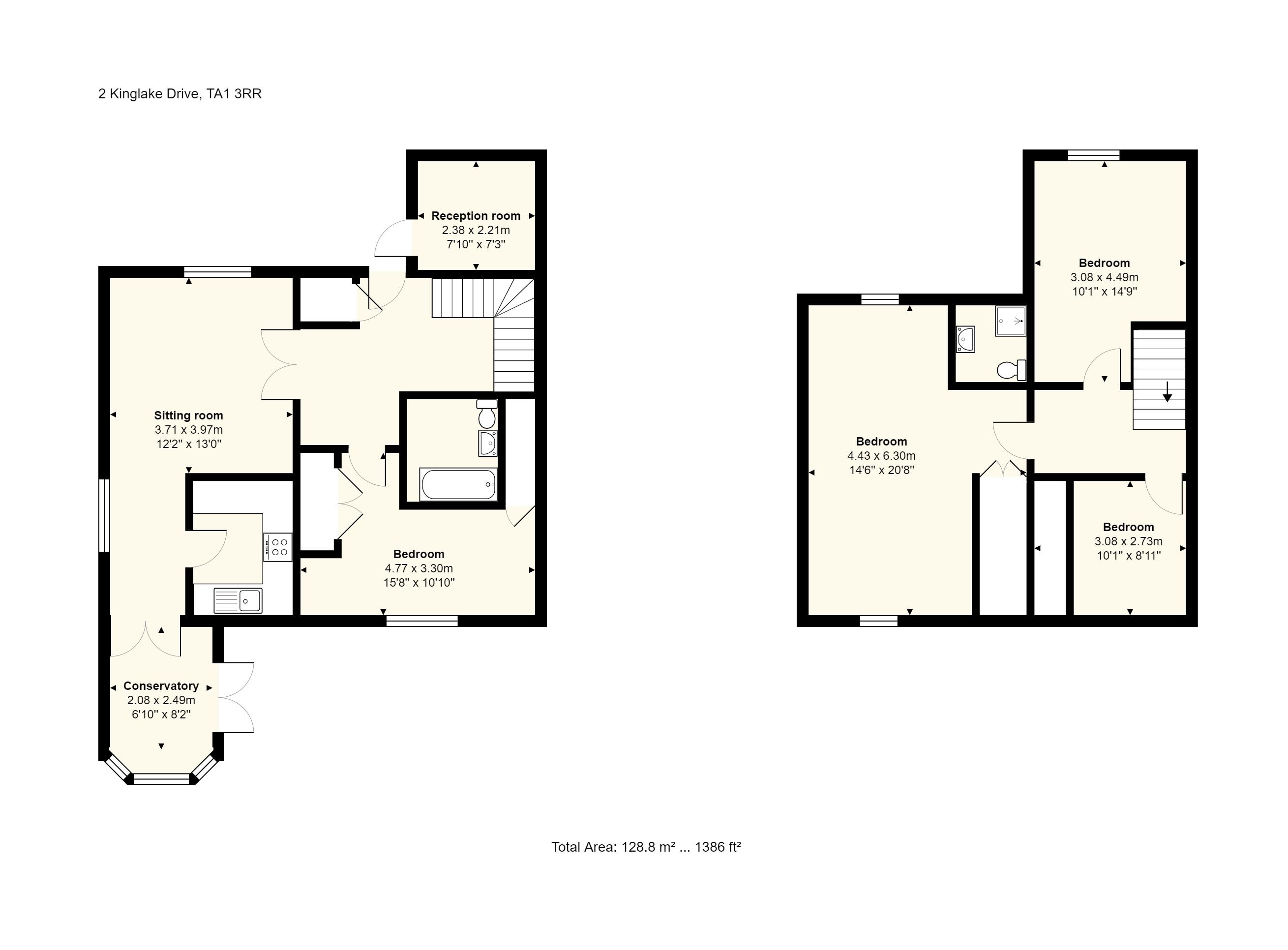 2 Kinglake Drive Floorplan